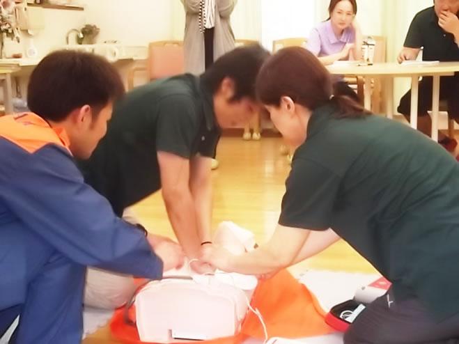 心肺蘇生 AED